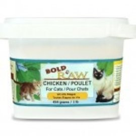 BOLD RAW BOLD Chicken for Cats 1lb