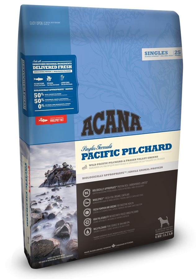 ACANA ACANA *Singles* Pacific Pilchard 6kg