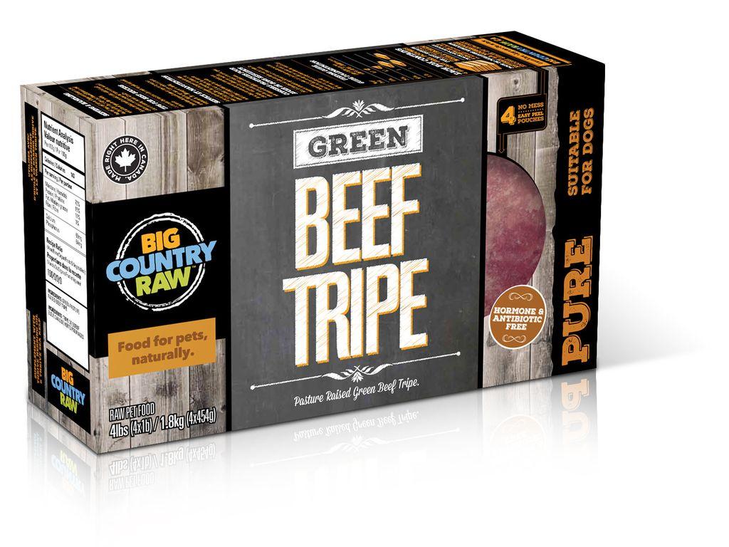 BCR BCR Pure Beef Tripe Carton - 4 lb