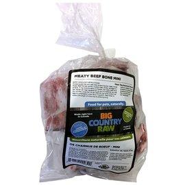 BCR BCR BONES Meaty Beef Bones Mini 2lb