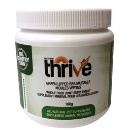 BCR BCR Thrive Green Lipped Mussels 160grams