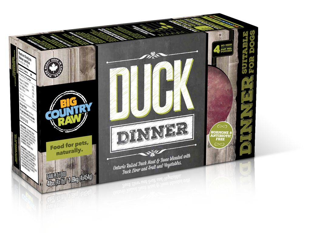 BCR BCR Duck Dinner Carton - 4 lb