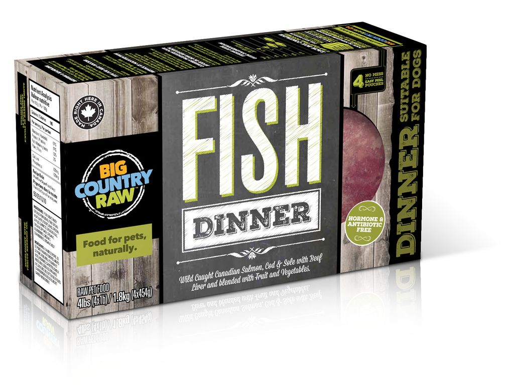 BCR BCR Fish Dinner Carton - 4 lb