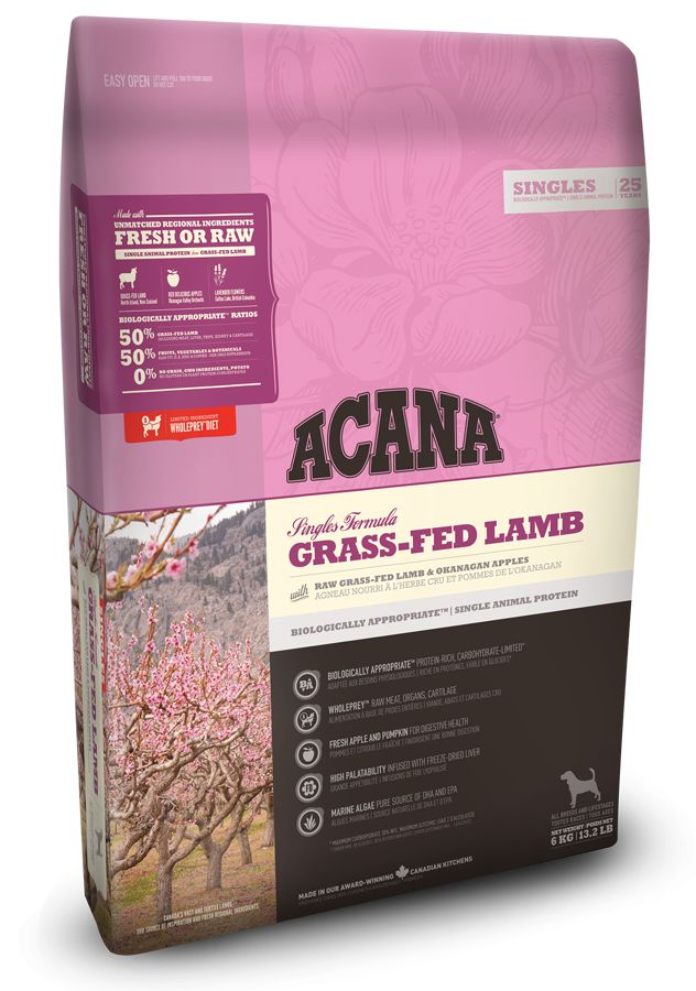 ACANA ACANA *Singles* Grass-fed Lamb 6kg