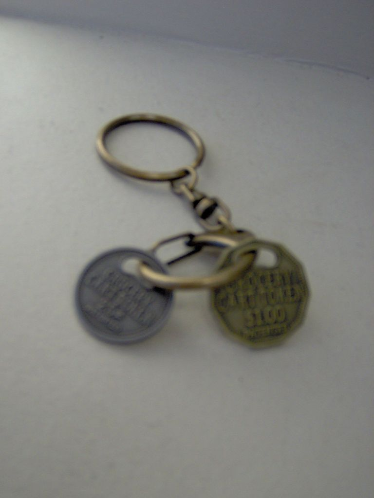 Cart Token with Lobster Hook