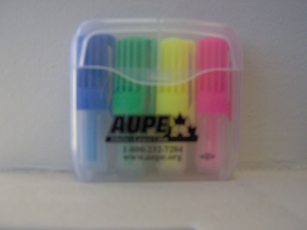 Mini pack highlighters