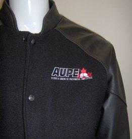 Melton Leather Jacket-Men's