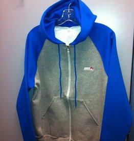 Custom Raglan Full Zip Hoodie-Unisex