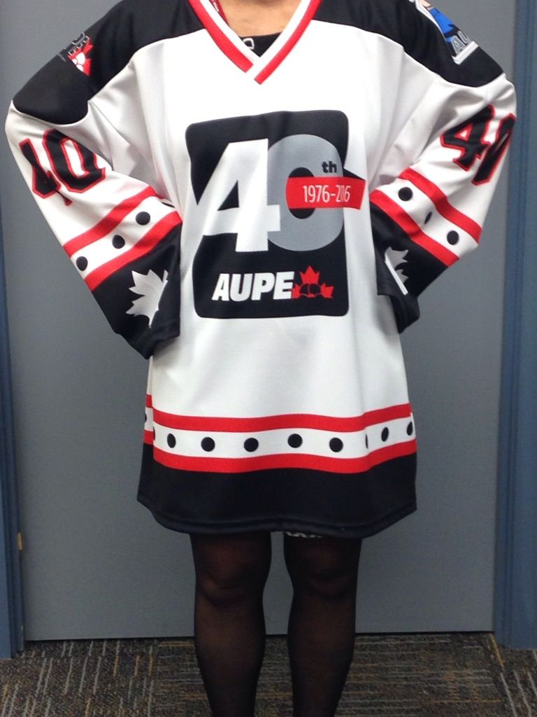 AUPE 40th Hockey Jersey