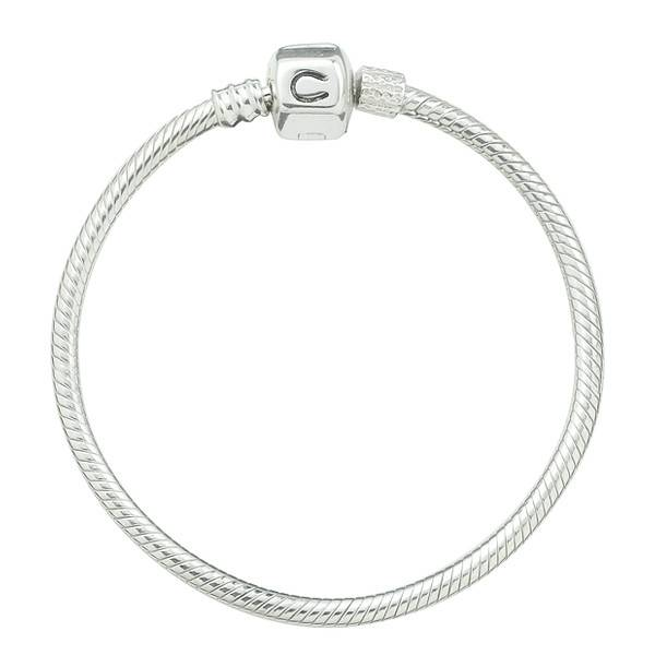 Chamilia Chamilia (17 cm/ 6.7 in) Silver Snap Bracelet