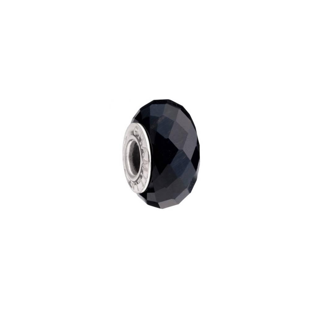 Chamilia Chamilia Semi-Precious Stones - Tiger's Eye - Black Midnight Charcoal