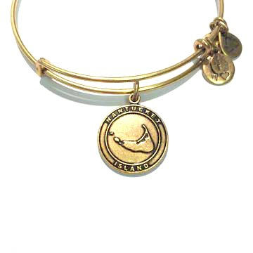 Alex and Ani Alex & Ani Bracelet Nantucket Rafaelian Gold Finish