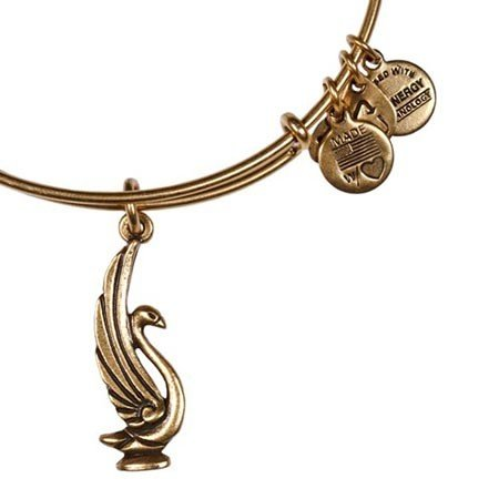 Alex and Ani Alex and Ani Swan EWB Rafaelian Gold FInish