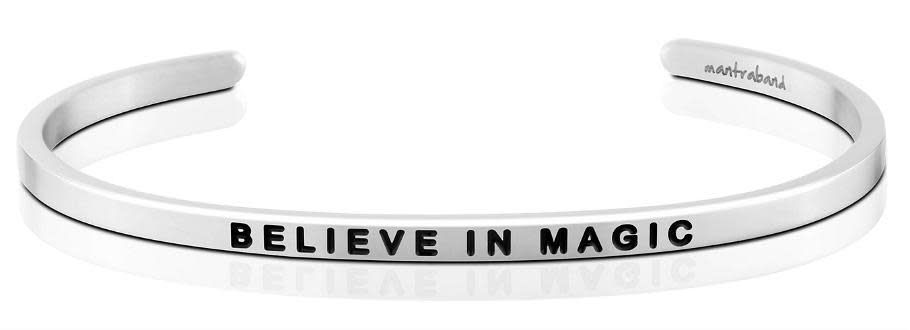 Mantra Band: Believe in Magic Stainless Finish Charity
