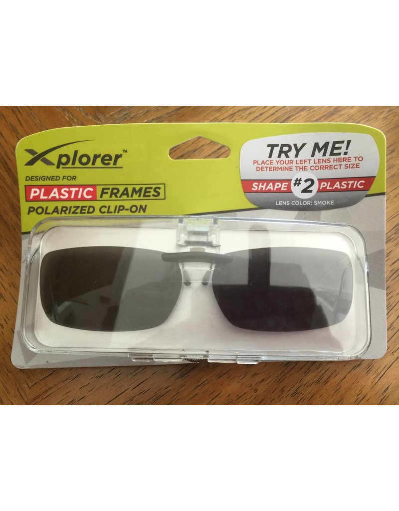 994db3302dce Stingray Eyewear Clip On Frames Plastic 2 Smoke Lens Cargo Trading Co