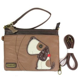 Chala Bags Crossbody-Mini-Dog-Brown
