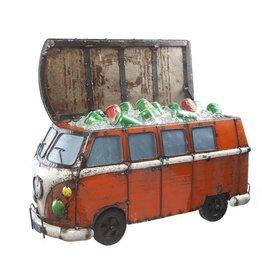 Think Outside Kool Kombi Cooler-ORANGE Recycled Metal Art