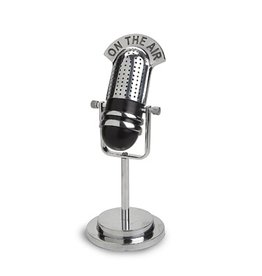 "Vintage Microphone-""On The Air"""