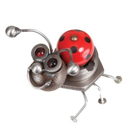 Yardbirds Metal Art-CK Happy Ladybug