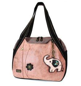 Chala Bags Bowling Bag-Elephant-Dusty Rose