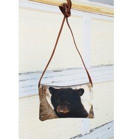 Art Studio Company Crossbody Bag (H)-Black Bear