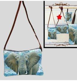 Art Studio Company Crossbody Bag (H)-Elephant Bright