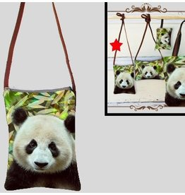 Art Studio Company Crossbody Bag (V)-Panda Bright