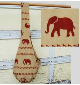 Art Studio Company Veggie-Dye Sling Bag-Elephant (Tan)