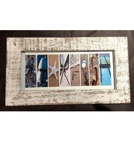 LisArt Boat Yard-'Starfish' (White Rustic Frame)