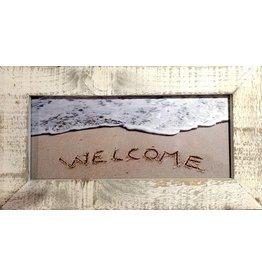 LisArt Framed Waves-'Welcome'