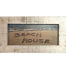 LisArt Framed Waves-'Beach House'