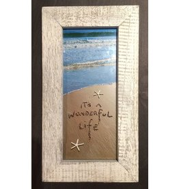 LisArt Framed Waves-'Its a Wonderful Life'