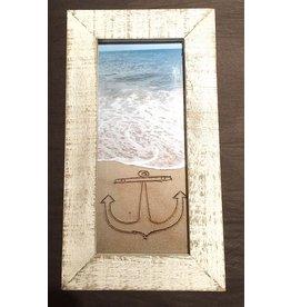 LisArt Framed Waves-'Anchor'