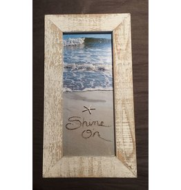 LisArt Framed Waves-'Shine On'
