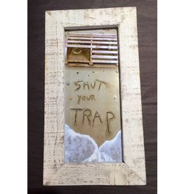 LisArt Frames Waves-'Shut Your Trap'
