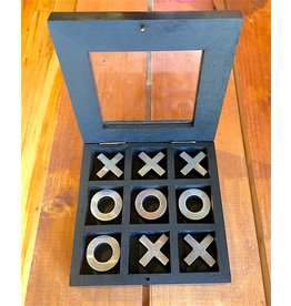 """Tic Tac Toe"" in Wooden Box (Travel Size)"