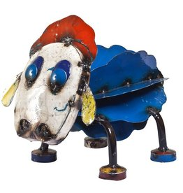 Think Outside Ewe the Sheep-Recycled Metal Art