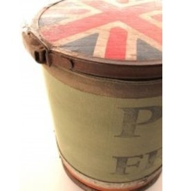Blue Ocean Traders Vintage Mail Canister-Union Jack & Postes France