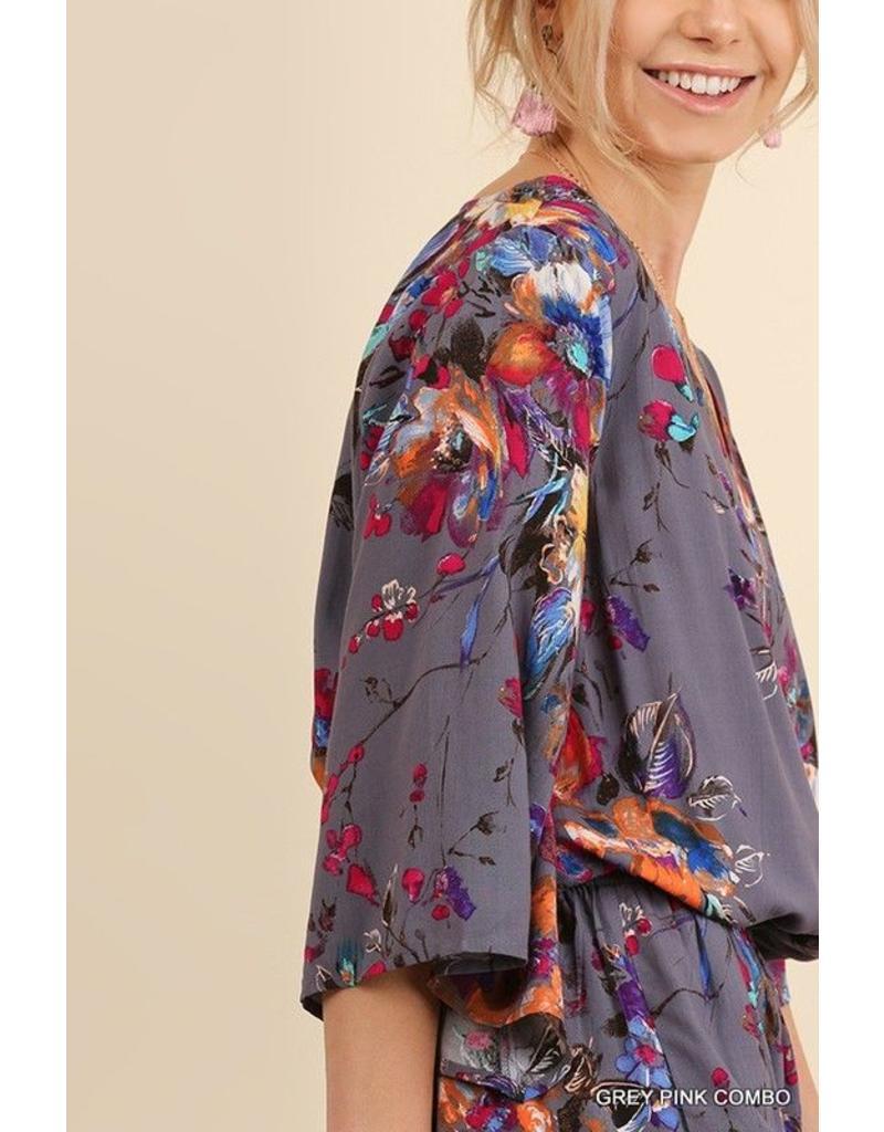 Cloudwalk Romper-Floral Print