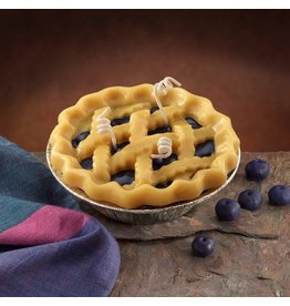 Honey Hive Handmade Blueberry Pie CANDLE<br />Looks & Smells Great!
