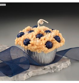 Honey Hive Handmade Blueberry Muffin CANDLE<br />Looks & Smells Great!