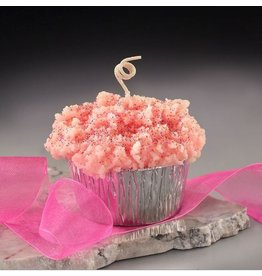Honey Hive Handmade Birthday Cake Muffin CANDLE