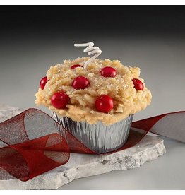 Honey Hive Handmade Cranberry Muffin CANDLE<br />Looks & Smells Great!