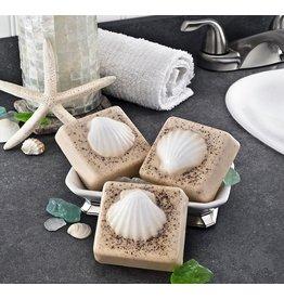 Honey Hive Handmade Shell on the Beach SOAP, Looks & Smells Great!