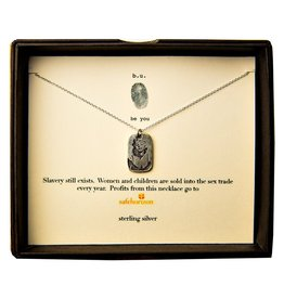 "BU Jewelry BU-Inspirational Necklace-""Marilyn"""