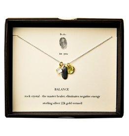 """BU Jewelry BU-Inspirational Necklace-""""Balance Healer"""""""