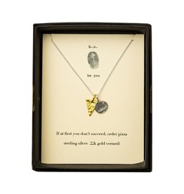 "BU Jewelry BU-Inspirational Necklace-""If At First"""