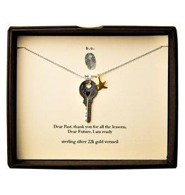 """BU Jewelry BU-Inspirational Necklace-""""Dear Past"""""""