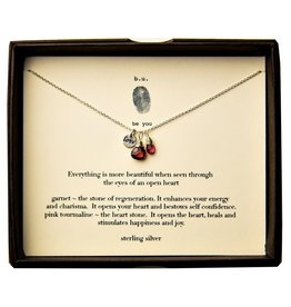 "BU Jewelry BU-Inspirational Necklace-""Everything is More Beautiful"""