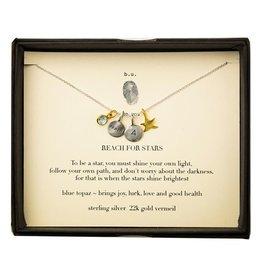 """BU Jewelry BU-Inspirational Necklace-""""Reach for the Stars"""""""
